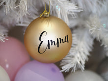 Bauble decal