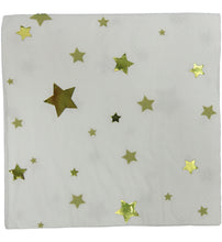 Gold Foil Star Napkin Set