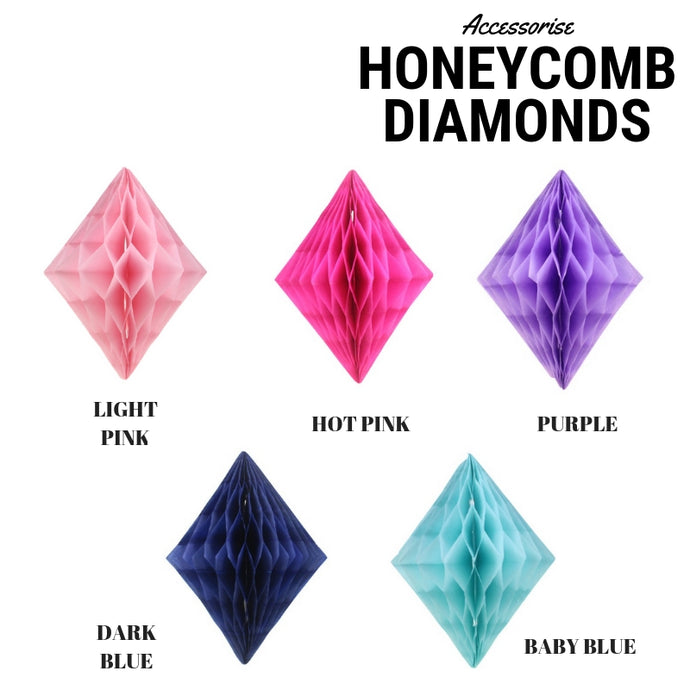 Honeycomb Decor Diamonds