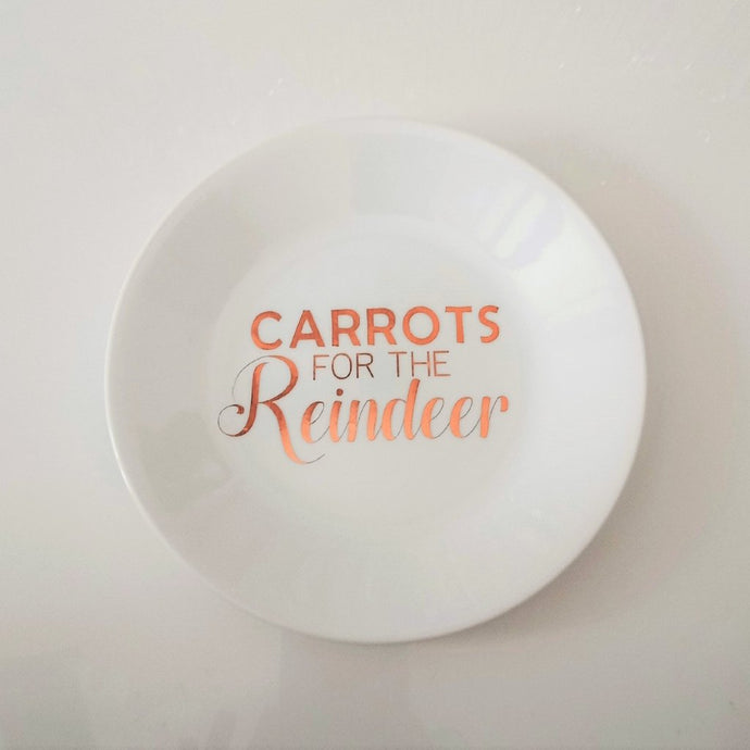 Carrots for reindeer decal