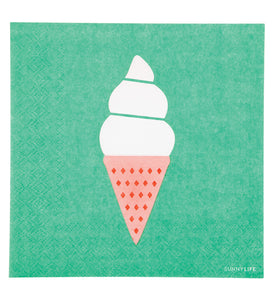 Ice Cream Napkin Set