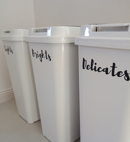 Laundry Decals