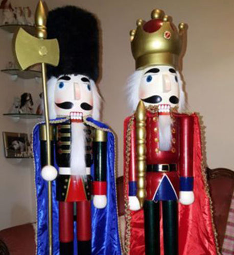 Nutcracker Christmas Props