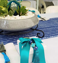 Navy Blue Table Runner