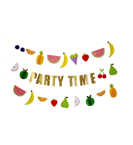 Party Time Fruit Garland