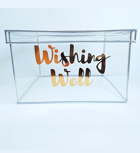 Wishing Well Decal only