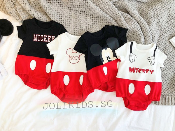 Mom & Baby Twinning Mickey Collection (4 Designs)