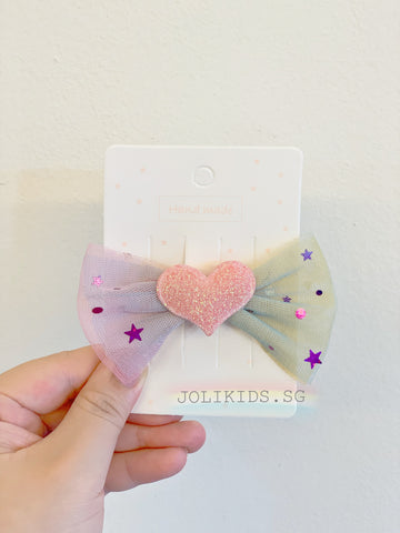 Handmade Tulle Little Start HairClip