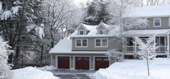 How Winter May Make Your Garage Door Dangerous (But Doesn't Have to)