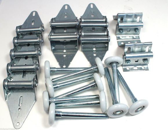 Garage Door Hardware Kit Medium Duty 14 GA - 8 x 7