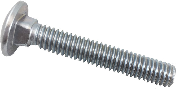 5/16' - 18' x 1 Carriage Bolt with Round Head - 8/pk