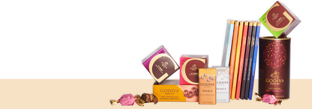 All godiva products
