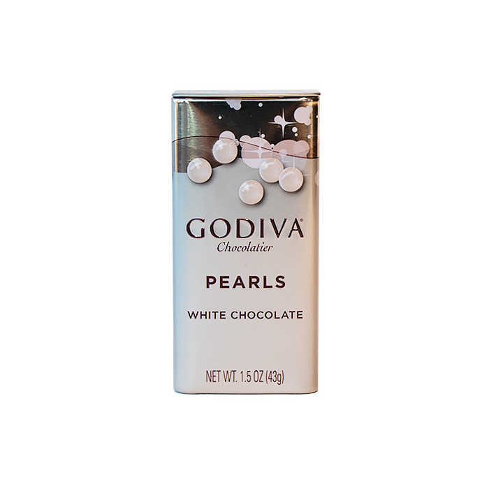 White Chocolate Pearls, 43g