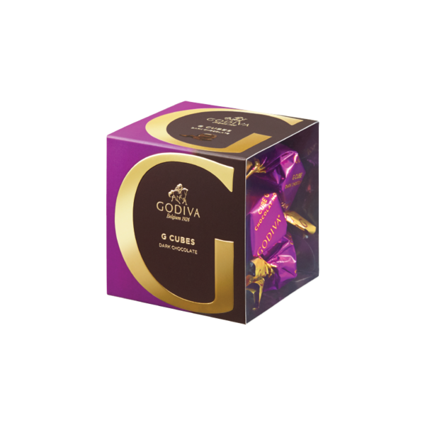 G Cube Dark Chocolate, 5 Pieces