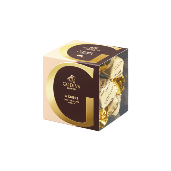 G Cube Dark Chocolate Vanilla, 5 Pieces | 40g