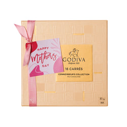 Mother's Day Carrés Milk Chocolates, 16 Pieces | 85g