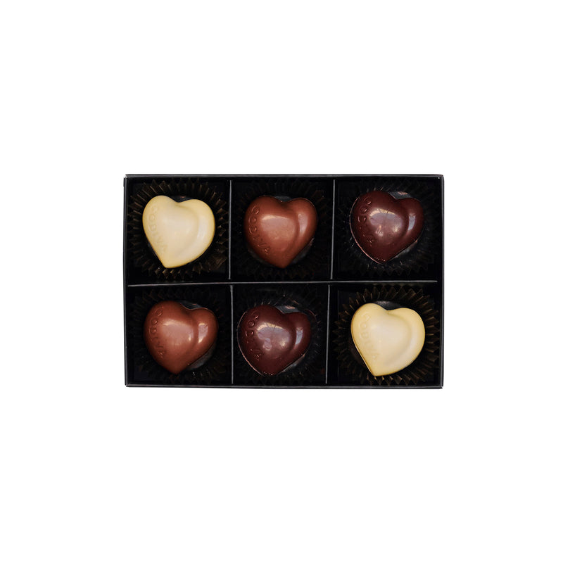 All Hearts Collection Gift Box, 6 pieces | 65g