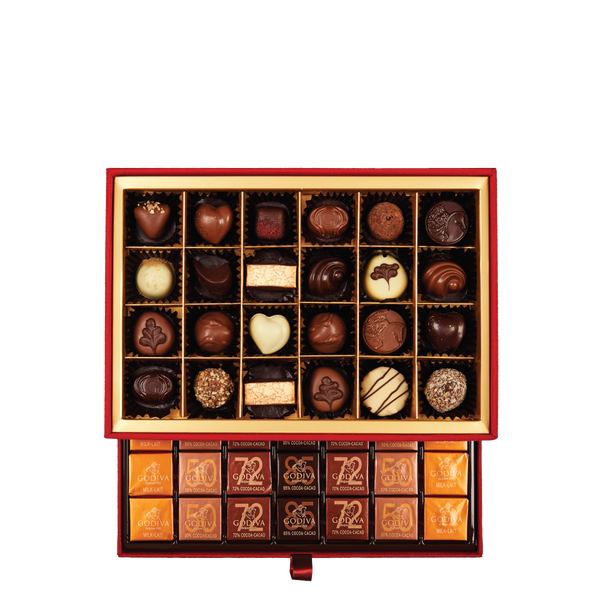 Grand Place Gift Box, 59 Pieces | 485g