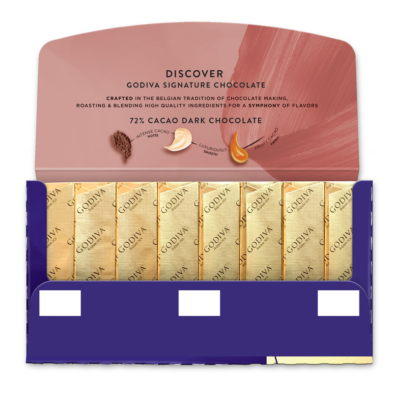 Signature Mini Bar - 72% Dark Chocolate, 90g