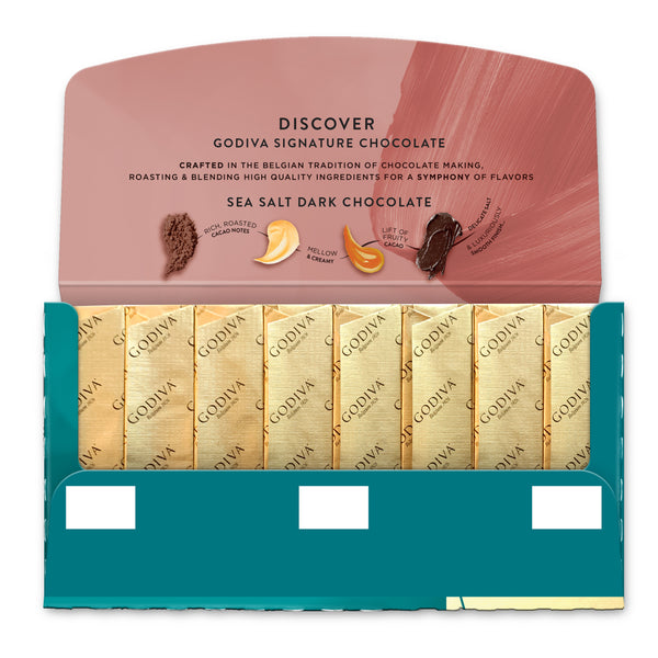 Signature Mini Bar - Sea Salt Dark Chocolate, 90g