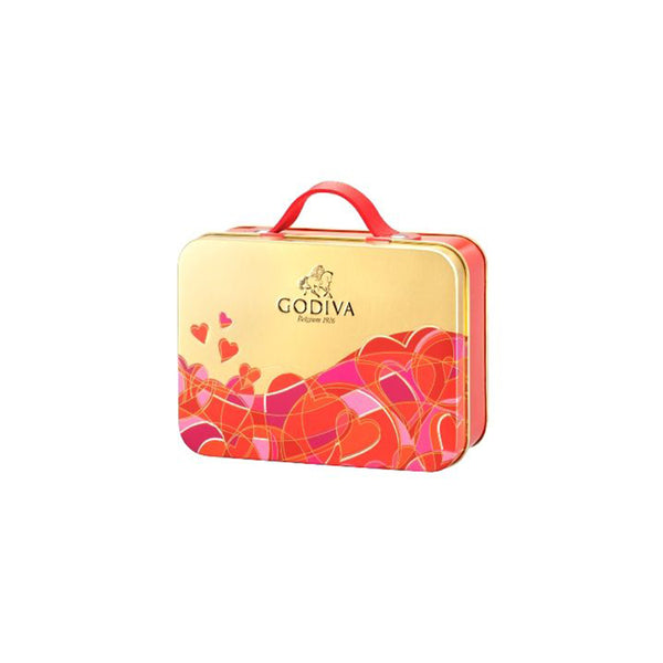 Valentine's Day G Cube Tin, 10 Pieces | 83.6g