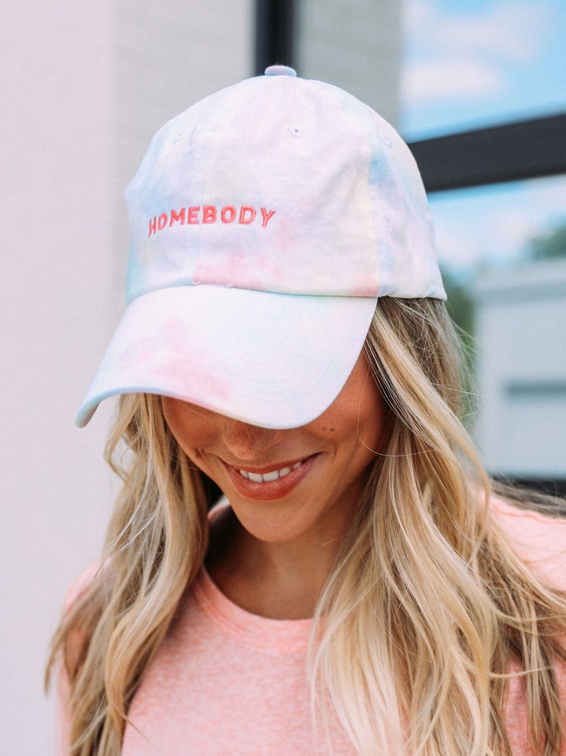 Friday + Saturday Homebody Tie Dye Hat