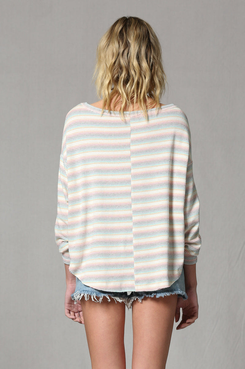 Rainbow Stripe Thermal