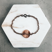 Load image into Gallery viewer, Cheap Luck | Copper Chain Lucky Penny Bracelet