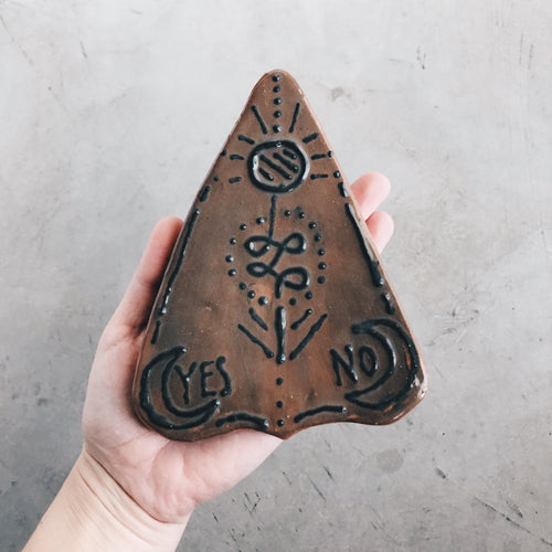 Ceramic Planchette Decorative Dish