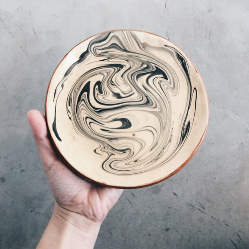 Marbled Swirl Ceramic Dish