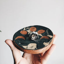 Load image into Gallery viewer, Small Moon Phases and Marbled Ceramic Dish