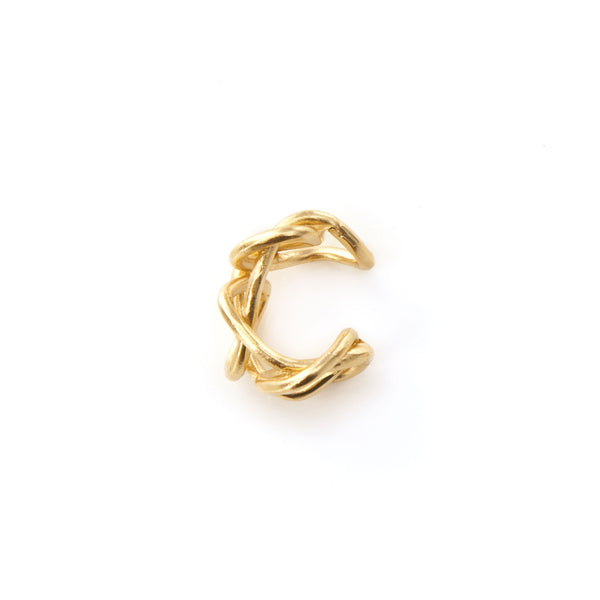 Ear Cuff Knot Light - Giulia Barela Gioielli/Jewlery