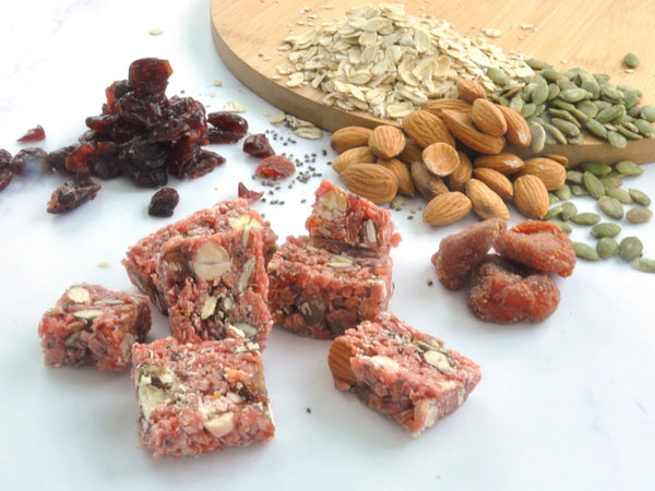 granola oat nougat with mix berries (60g)