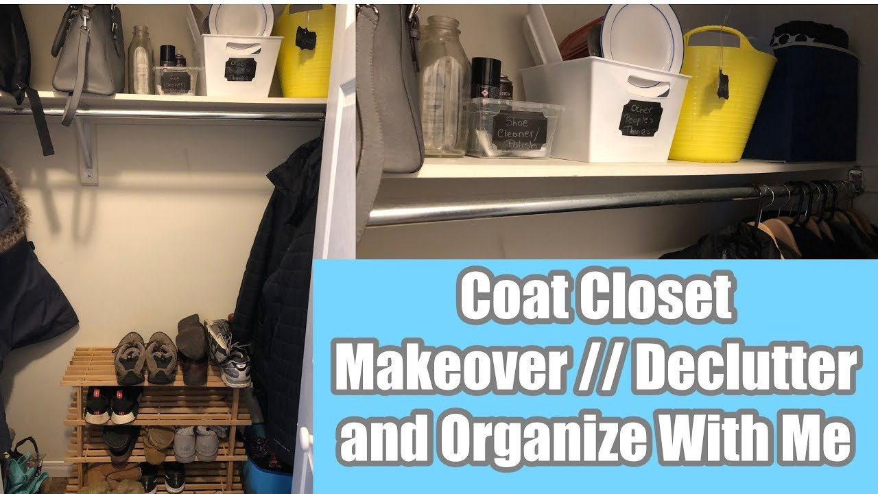 cleaningmotivation #motivationalmonday #cleanwithme In this video I declutter, clean and organize my Coat Closet