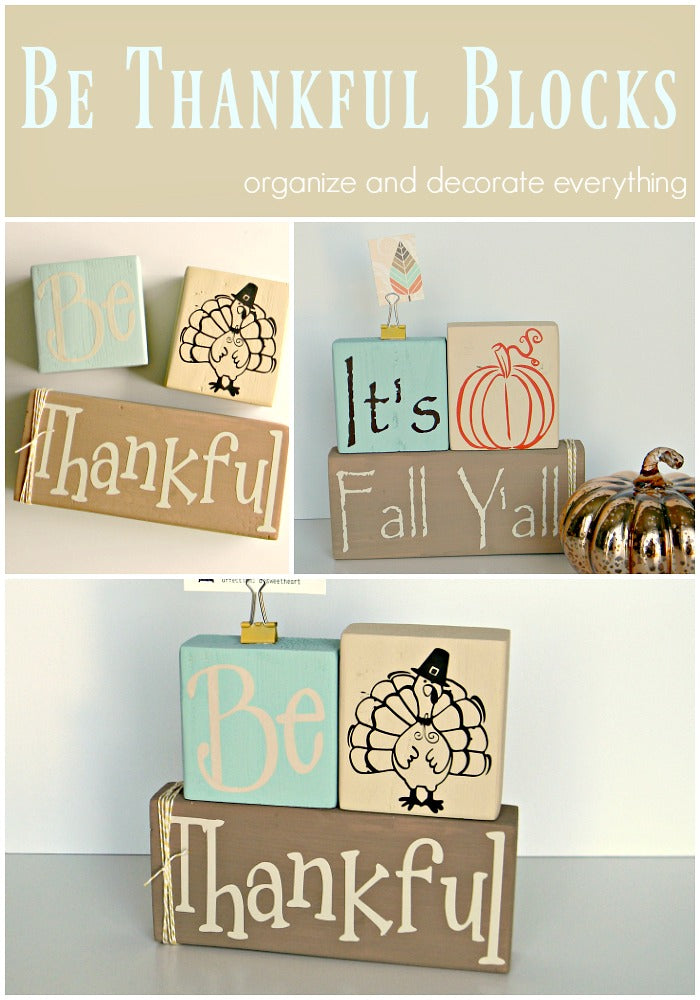 Be Thankful Blocks