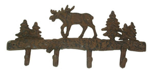 Cast Iron Moose Wall Hook