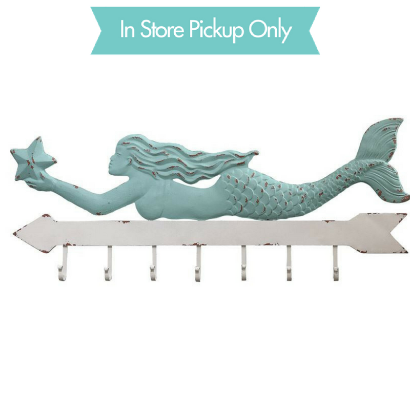 MERMAID METAL WALL HOOK