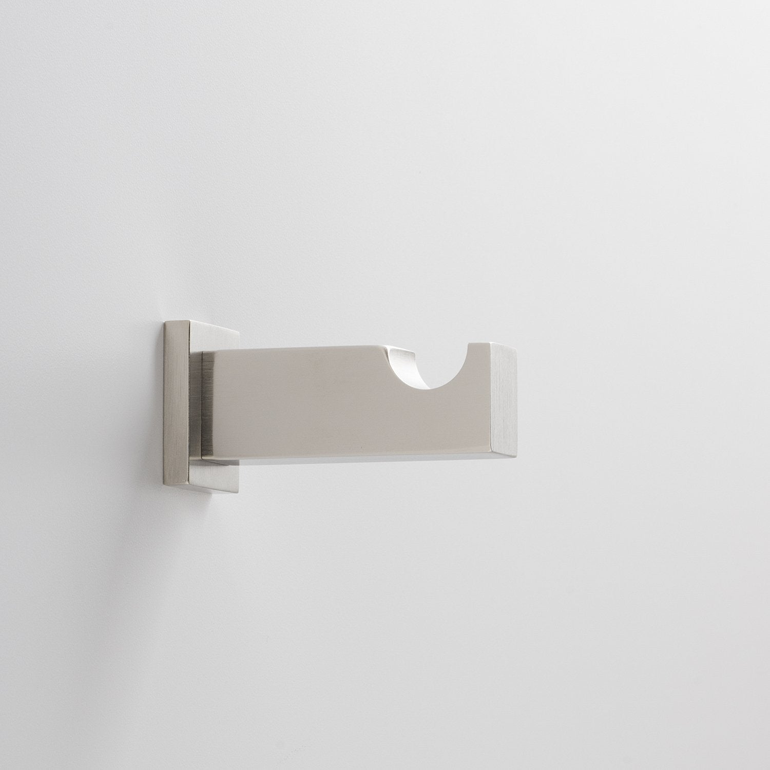 Breyman Wall Hook - Satin Nickel