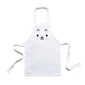 Toddler Apron . Cat