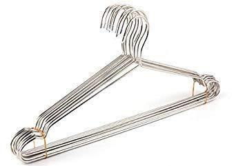 Latest zoomy far stainless steel coat drying rack clothes hanger 42cm clothes hangers