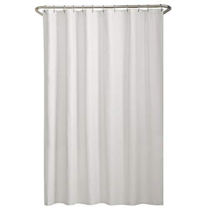 "MAYTEX Fabric Shower Liner, 70"" x 72"", White"