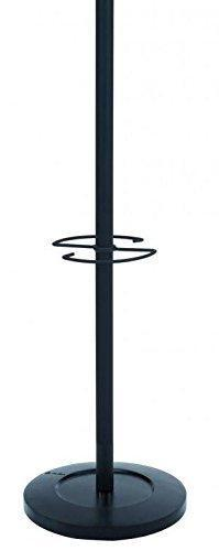 Best seller  alba classic floor coat rack stand with 4 double pegs black pmvienan