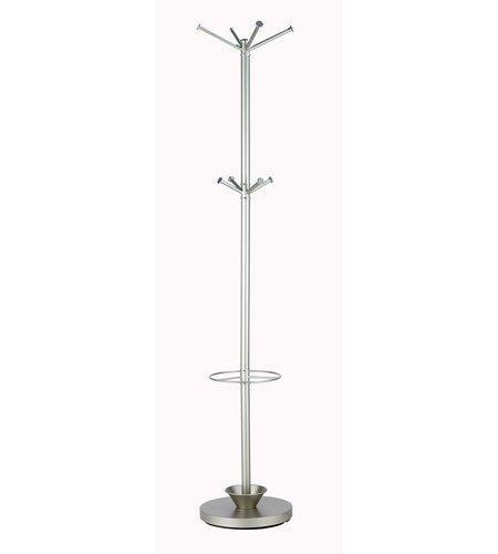 Cheap adesso wk2048 22 quatro umbrella stand coat rack champagne steel