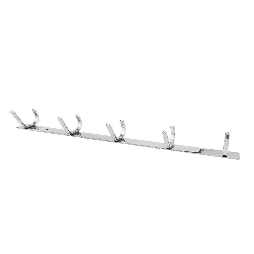 Selection dosens coat hook rack wall mount sus 304 stainless steel hanger clothes hat holder 10 hooks 2 pack