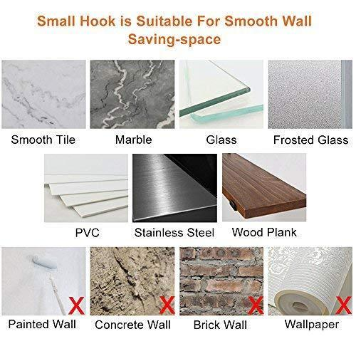 On amazon 3m self adhesive hooks key rack yegu brushed sus304 stainless steel heavy duty coat hanger purse robe towel 4 hook rail for bathroom lavatory kitchen contemporary style wall mount no drilling
