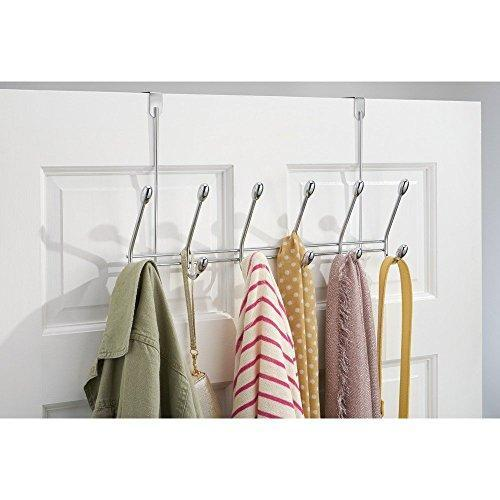 Shop watimas over door storage rack organizer hooks for coats hats robes clothes or towels
