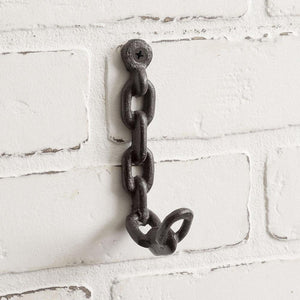 Chain Wall Hook  (Set of 4)