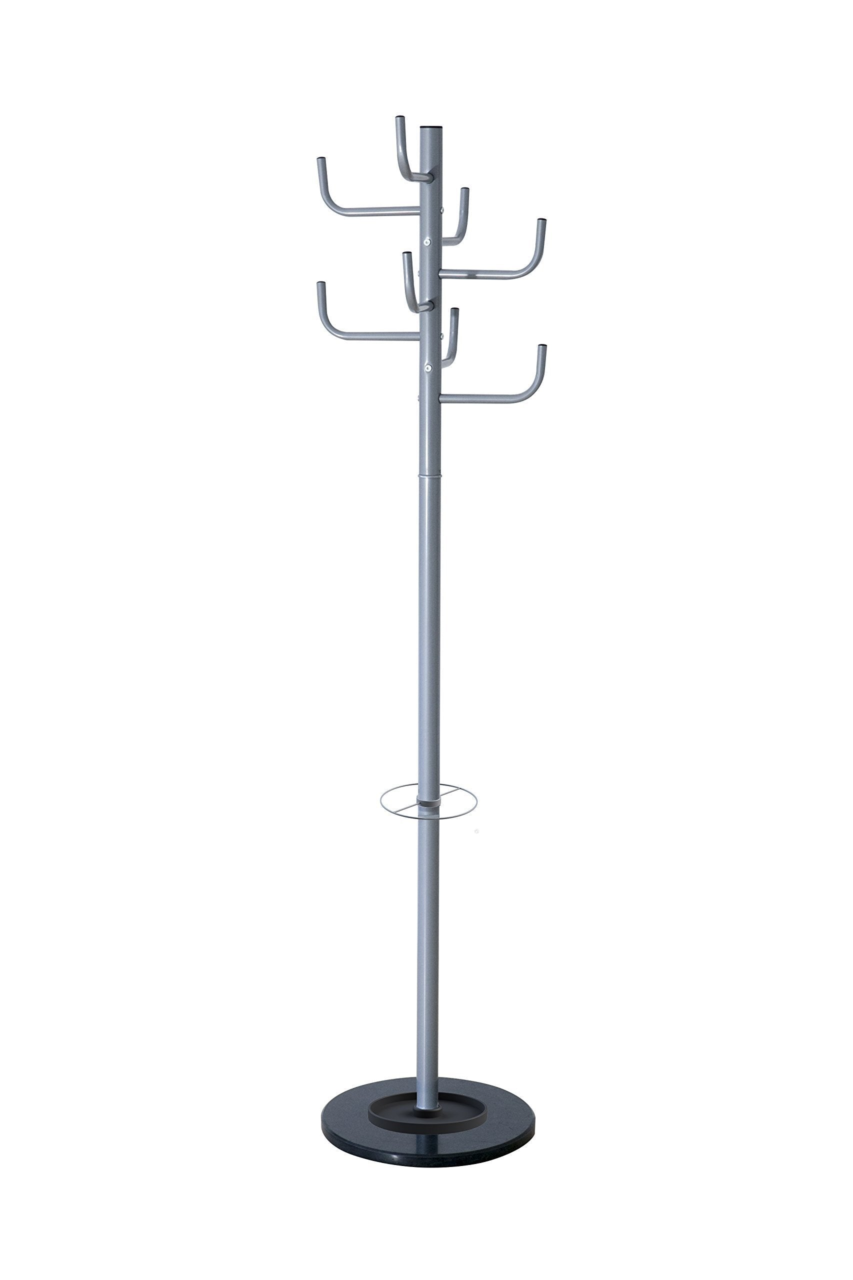 Top rated paperflow cactus coat rack stand with eight pegs aluminum 68 x 15 pt006 35