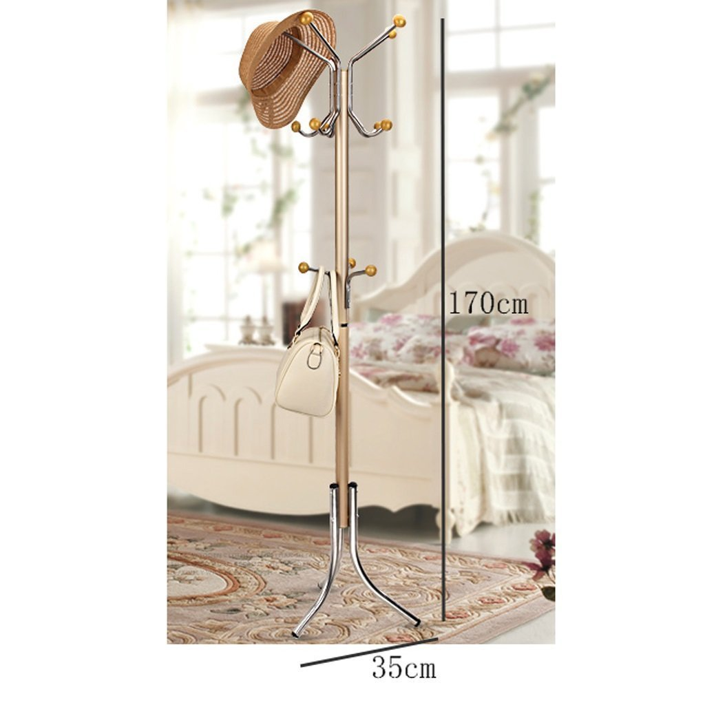 Buy now coat stand rack stainless steel simple assembly hangers landing creative racks