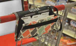 Grocery Coupon Organizer Binder & Coupon Holder Includes pen holder and wrist wrap